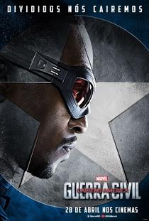 Capitão América: Guerra Civil - Poster / Capa / Cartaz - Oficial 35