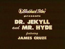 Dr. Jekyll and Mr. Hyde - Poster / Capa / Cartaz - Oficial 2