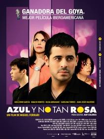 Azul e Não Tão Rosa - Poster / Capa / Cartaz - Oficial 2