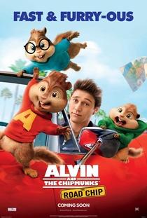 Alvin e os Esquilos: Na Estrada - Poster / Capa / Cartaz - Oficial 5