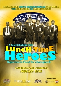 Lunch Time Heroes - Poster / Capa / Cartaz - Oficial 1