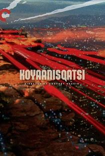 Koyaanisqatsi - Uma Vida Fora de Equilíbrio - Poster / Capa / Cartaz - Oficial 1