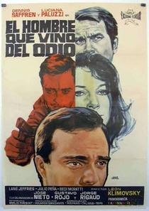 El hombre que vino del odio - Poster / Capa / Cartaz - Oficial 1