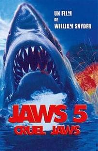 Tubarão Cruel  - Poster / Capa / Cartaz - Oficial 3