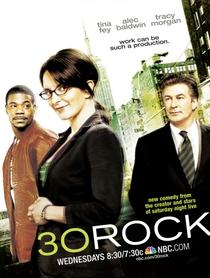 30 Rock (1ª Temporada) - Poster / Capa / Cartaz - Oficial 1