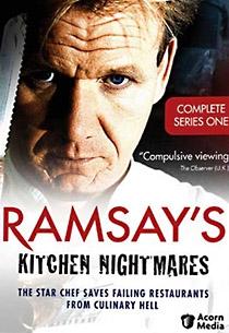 Ramsay's Kitchen Nightmares (UK) - 1ª temporada - Poster / Capa / Cartaz - Oficial 1
