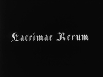 Lacrimae Rerum - Poster / Capa / Cartaz - Oficial 1