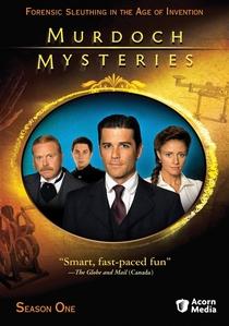 Os Mistérios do Detetive Murdoch (1ª temporada) - Poster / Capa / Cartaz - Oficial 1