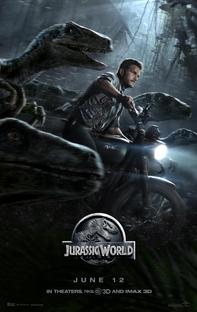 Jurassic World - O Mundo dos Dinossauros - Poster / Capa / Cartaz - Oficial 3
