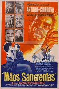 Mãos sangrentas - Poster / Capa / Cartaz - Oficial 1