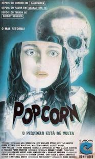 Popcorn - O Pesadelo Está De Volta - Poster / Capa / Cartaz - Oficial 2