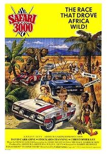 Safári 3000 - Poster / Capa / Cartaz - Oficial 2