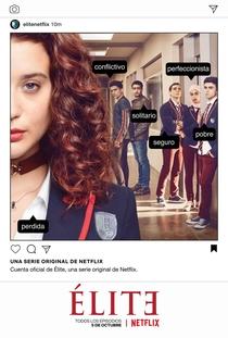 Elite (1ª Temporada) - Poster / Capa / Cartaz - Oficial 3