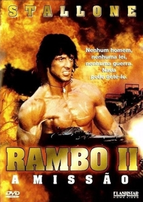Rambo II - A Missão - Poster / Capa / Cartaz - Oficial 14