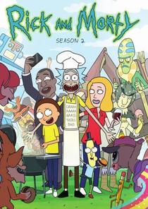 Rick and Morty (2ª Temporada) - Poster / Capa / Cartaz - Oficial 2