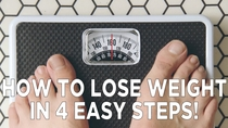 How To Lose Weight In 4 Easy Steps! - Poster / Capa / Cartaz - Oficial 1