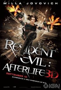 Resident Evil 4: Recomeço - Poster / Capa / Cartaz - Oficial 3