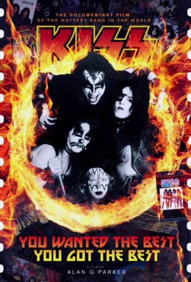 Kiss: veja poster do novo documentário oficial sobre a banda