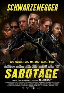 Sabotagem - Poster / Capa / Cartaz - Oficial 5