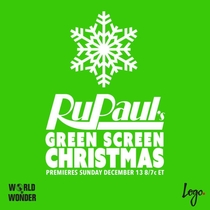 RuPaul's Green Screen Christmas - Poster / Capa / Cartaz - Oficial 1