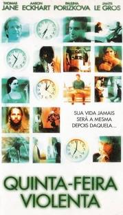 Quinta-Feira Violenta - Poster / Capa / Cartaz - Oficial 3