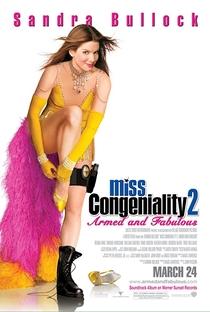 Miss Simpatia 2: Armada e Poderosa - Poster / Capa / Cartaz - Oficial 3