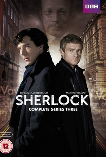 Sherlock (3ª Temporada) - Poster / Capa / Cartaz - Oficial 2