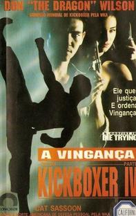 A Vingança de um Kickboxer 4 - Poster / Capa / Cartaz - Oficial 1