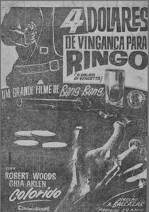 4 Dólares de Vingança para Ringo - Poster / Capa / Cartaz - Oficial 5