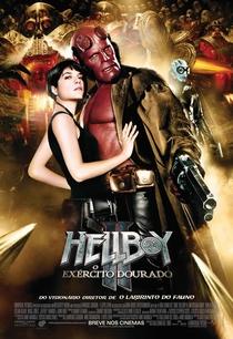 Hellboy II: O Exército Dourado - Poster / Capa / Cartaz - Oficial 5
