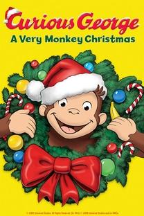George, o Curioso – Um Natal Cheio de Macacadas - Poster / Capa / Cartaz - Oficial 3