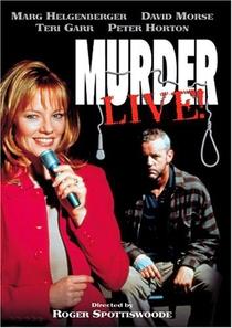 Assassinato: ao vivo! - Poster / Capa / Cartaz - Oficial 1