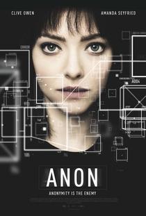 Anon - Poster / Capa / Cartaz - Oficial 2