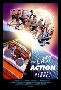In Search of the Last Action Heroes - Poster / Capa / Cartaz - Oficial 3