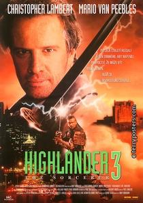 Highlander 3 - O Feiticeiro - Poster / Capa / Cartaz - Oficial 1