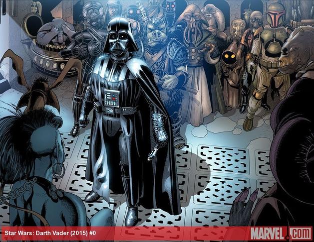 Star Wars: preview da 1ª edição da HQ de Darth Vader
