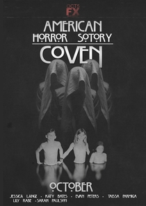 American Horror Story: Coven (3ª Temporada) - Poster / Capa / Cartaz - Oficial 9