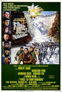 O Comando 10 de Navarone - Poster / Capa / Cartaz - Oficial 1