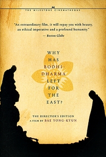 Why Has Bodhi-Dharma Left for the East? - Poster / Capa / Cartaz - Oficial 1