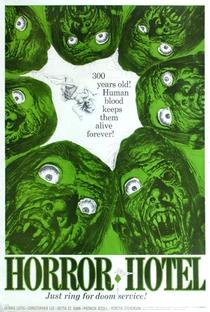 Horror Hotel - Poster / Capa / Cartaz - Oficial 1