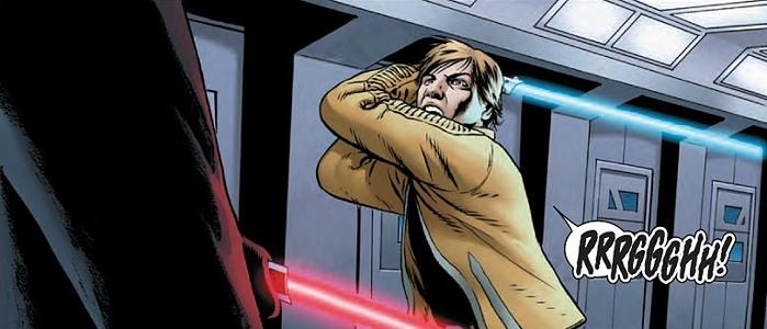 Star Wars: Luke vs Vader no preview da 2ª edição