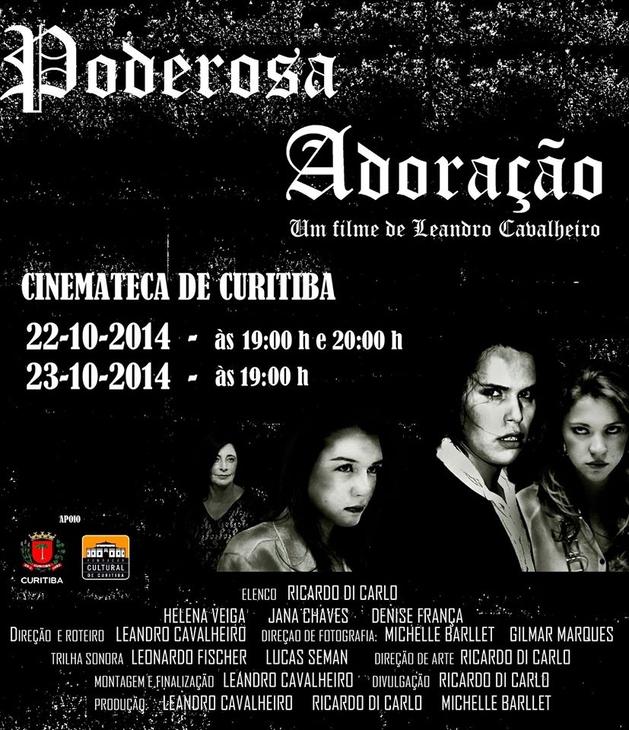 Poderosa Adoração, curta metragem de Leandro Cavalheiro estreia na Cinemateca dia 22