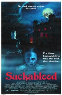 Suckablood - Poster / Capa / Cartaz - Oficial 1