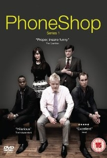 PhoneShop (1° temporada) - Poster / Capa / Cartaz - Oficial 1