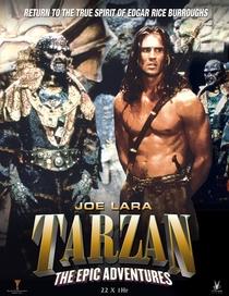 As Aventuras Épicas de Tarzan - Poster / Capa / Cartaz - Oficial 1