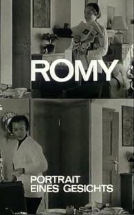 Romy - Retrato De Um Rosto - Poster / Capa / Cartaz - Oficial 1