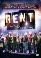 RENT - Ao Vivo na Broadway (RENT - Filmed Live on Broadway)