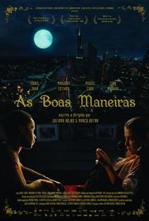 As Boas Maneiras - Poster / Capa / Cartaz - Oficial 3