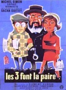 Les trois font la paire - Poster / Capa / Cartaz - Oficial 1