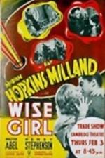 Wise Girl - Poster / Capa / Cartaz - Oficial 1